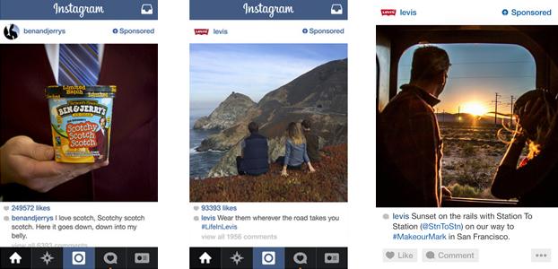 ejemplos anuncios instagram