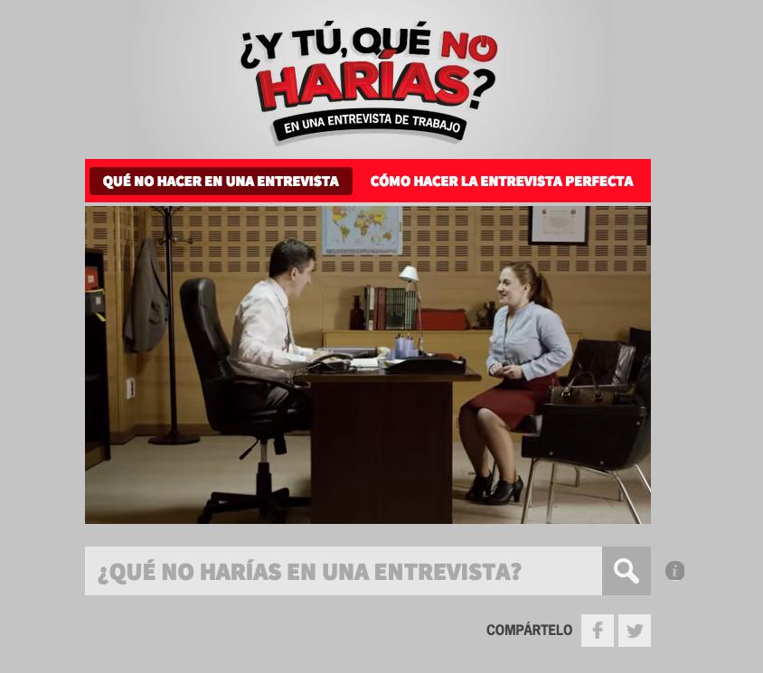 ytúquénoharías Banco Santander HAVAS