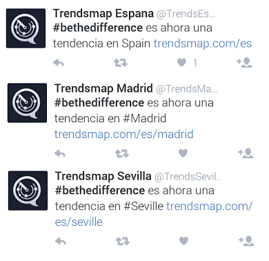 trending topic #bethedifference adidas arnoldmadrid