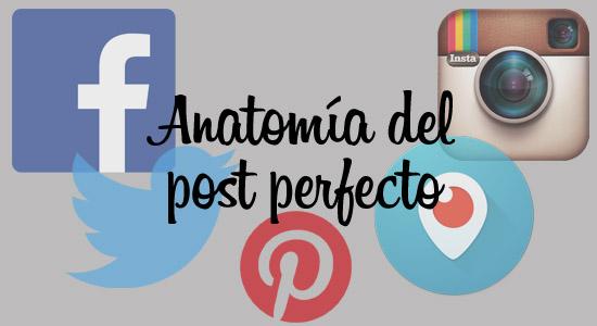 anatomía del post perfecto Arnold Madrid