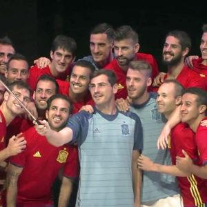 Presentación camiseta Selección Española 2016