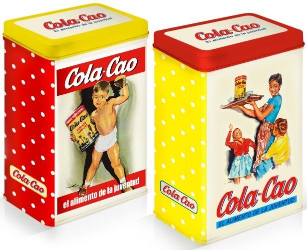 Latas Cola-Cao Vintage