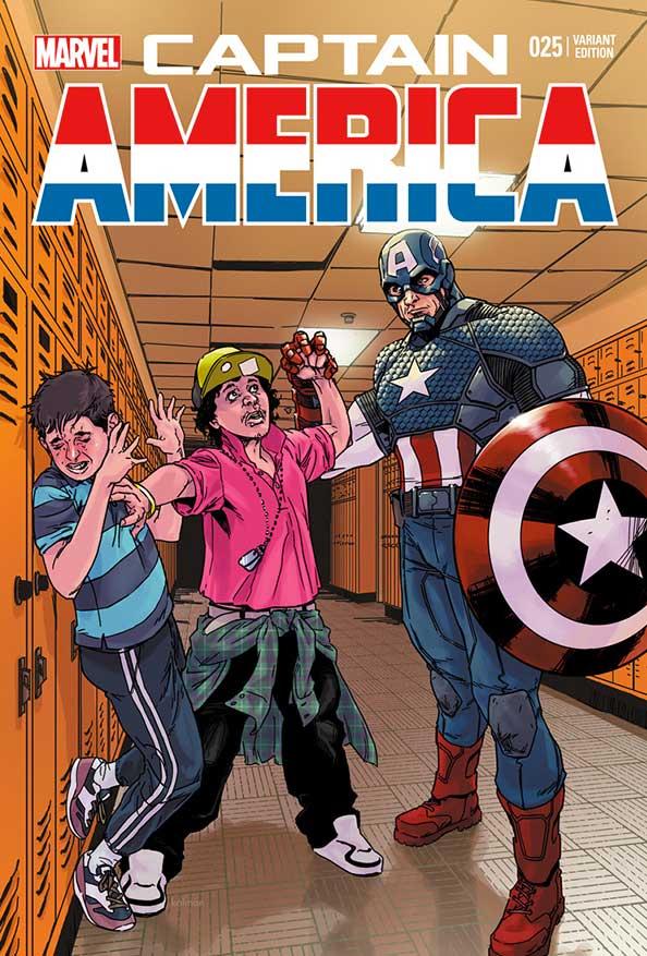 Capitan america Bullying