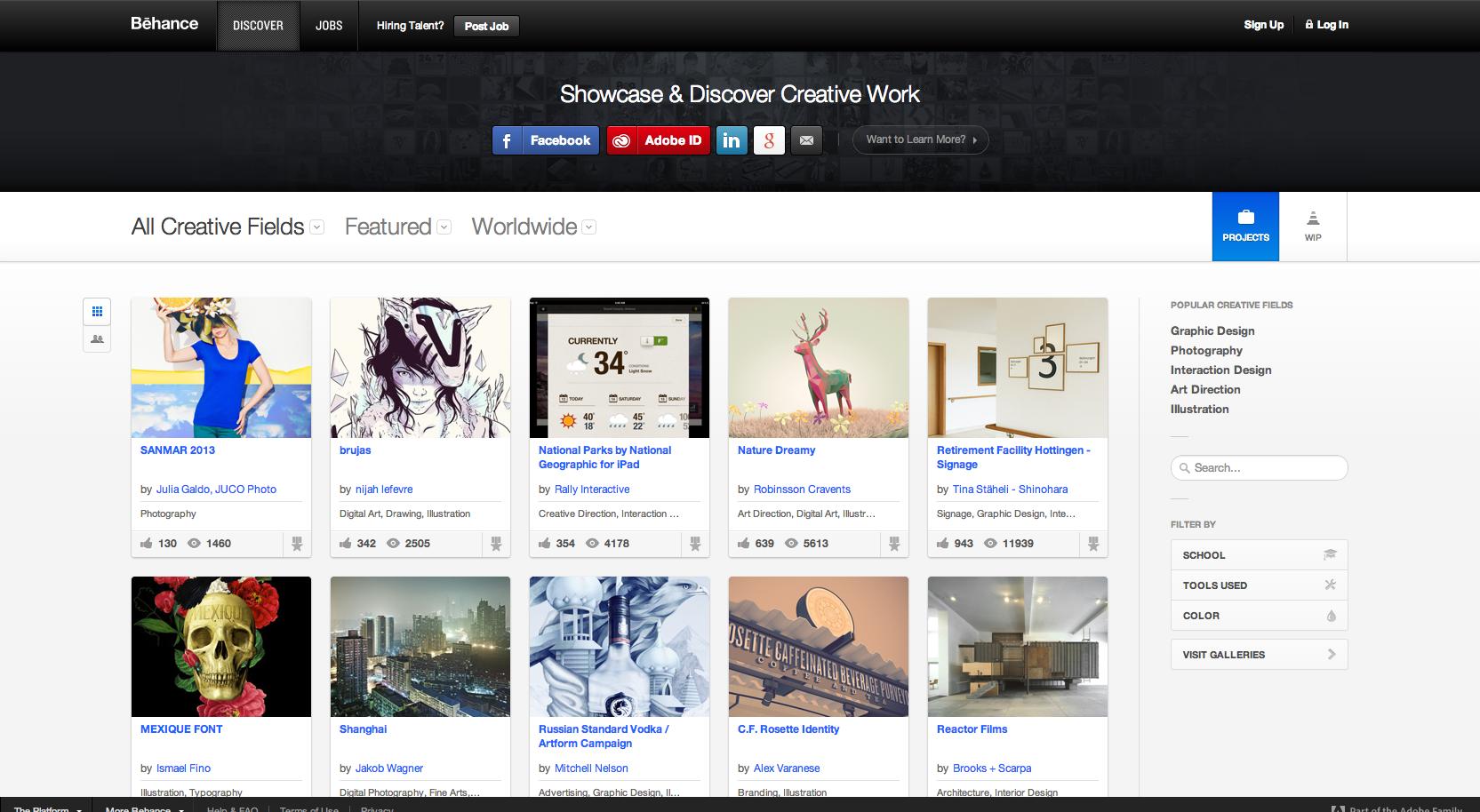Online-Portfolios-on-Behance
