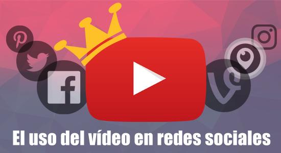 vídeo en redes sociales