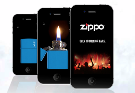 Virtual Zippo