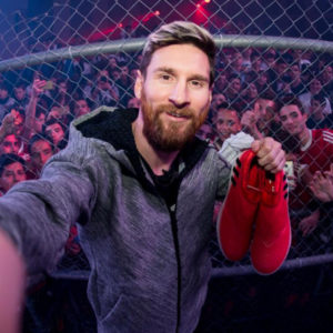 Messi y el reto Red Limit de adidas