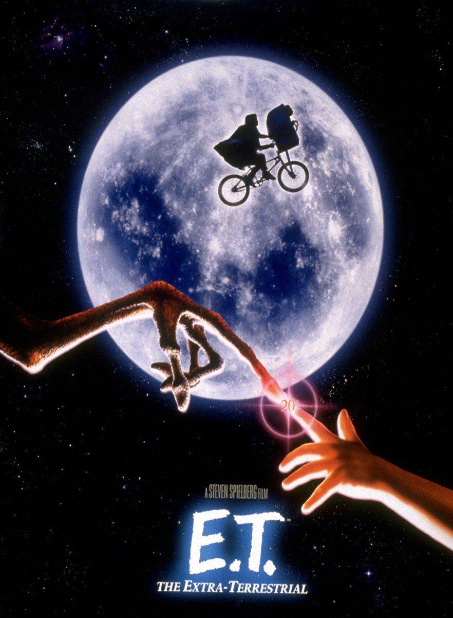 E.T. El extraterrestre. Fuente: Ecartelera http://www.ecartelera.com/peliculas/et-el-extraterrestre/cartel/2987/