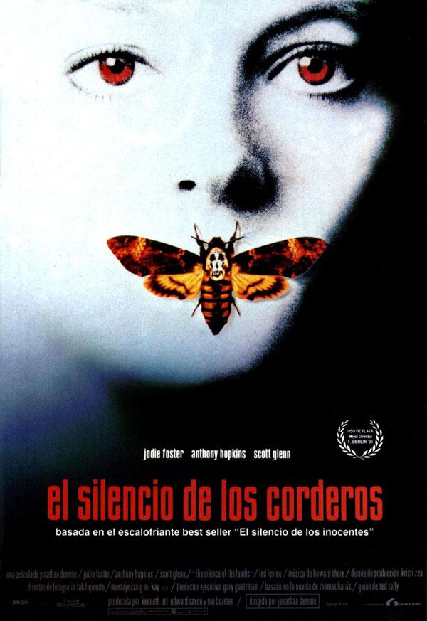 El silencio de los corderos. Fuente: Sensacine http://www.sensacine.com/peliculas/pelicula-6641/fotos/detalle/?cmediafile=19757760