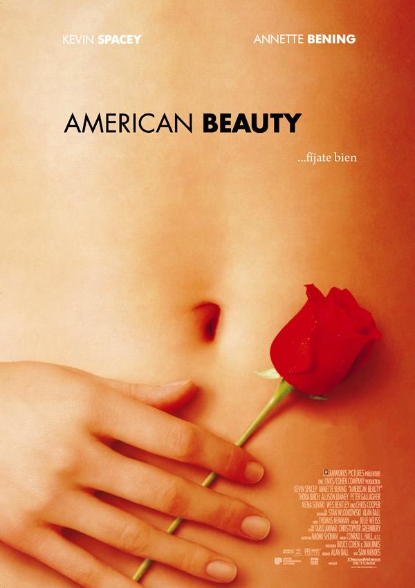 American Beauty. Fuente: Sensacine http://www.sensacine.com/peliculas/pelicula-21946/fotos/detalle/?cmediafile=20126352