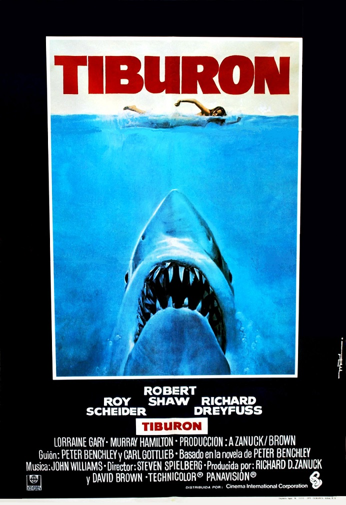 Tiburón. Fuente: Sensacine http://www.sensacine.com/peliculas/pelicula-12789/fotos/detalle/?cmediafile=21009675