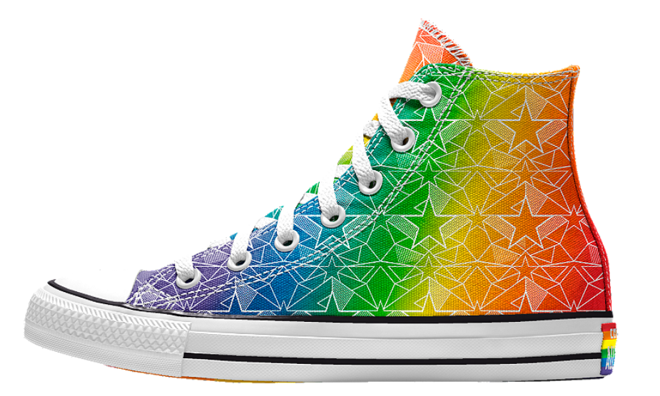 converse #yestoall pride collection